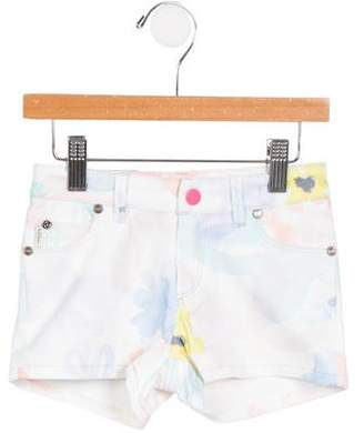Paul Smith Girls' Lisandra Watercolor Shorts w/ Tags
