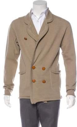 Kolor Wool Shawl Collar Sweater tan Wool Shawl Collar Sweater
