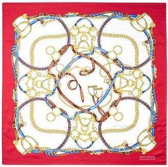 Aspinal of London Horseshoe Silk Scarf