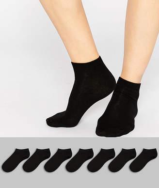 Asos DESIGN 7 pack sneaker socks