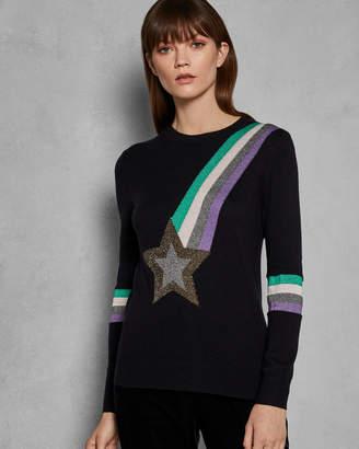Ted Baker EFFIER Shooting star knit jumper