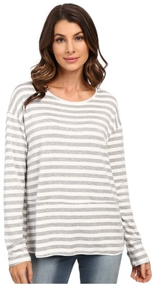 HEATHER French Terry Pullover $92 thestylecure.com