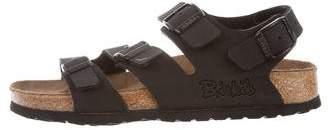 Birkenstock Leather Buckle Sandals