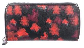 Givenchy Printed Leather Wallet Black Printed Leather Wallet
