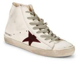 Golden Goose Star Leather High-Top Sneakers
