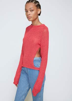 Eckhaus Latta Open Raglan Sweater