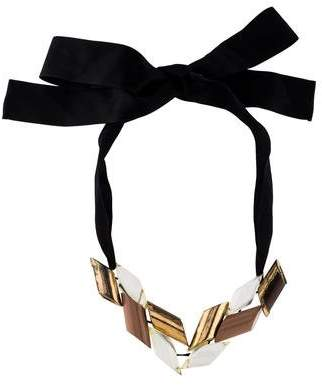 Marni Lucite & Resin Necklace