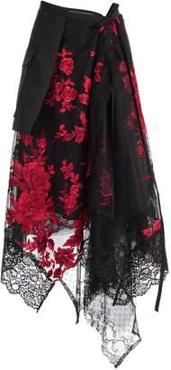 Antonio Marras Asymmetric Layered Skirt