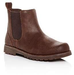 UGG Boys' Callum Cracked Leather Boots - Little Kid, Big Kid