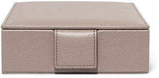 Smythson Textured-leather Jewelry Box