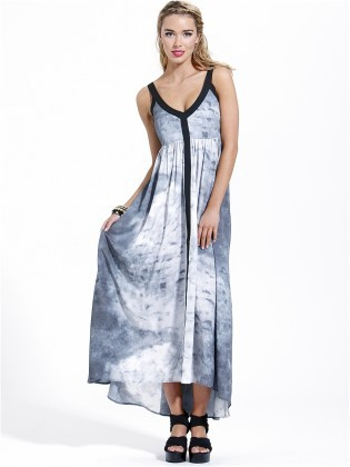 Sass Morgan Tie Dye Maxi Dress