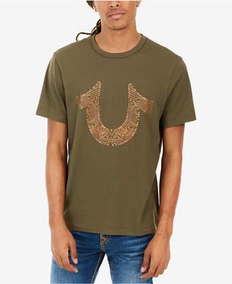 True Religion Men's Horseshoe Logo-Print T-Shirt