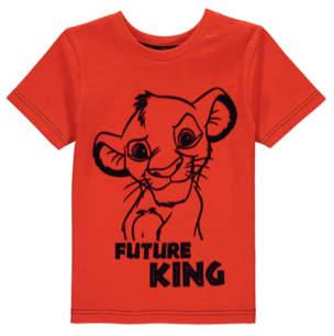 Disney George The Lion King Orange T-Shirt