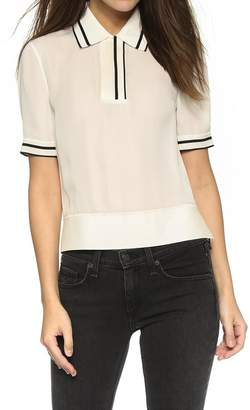 Rag & Bone Dana Silk Polo
