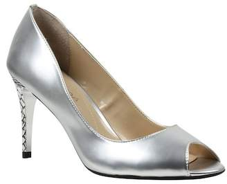 J. Renee Lucera Snake Embossed Heel Pumps - Multiple Widths Available