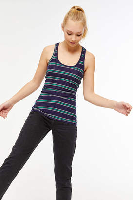 Ardene Basic Striped Racerback Tank Top
