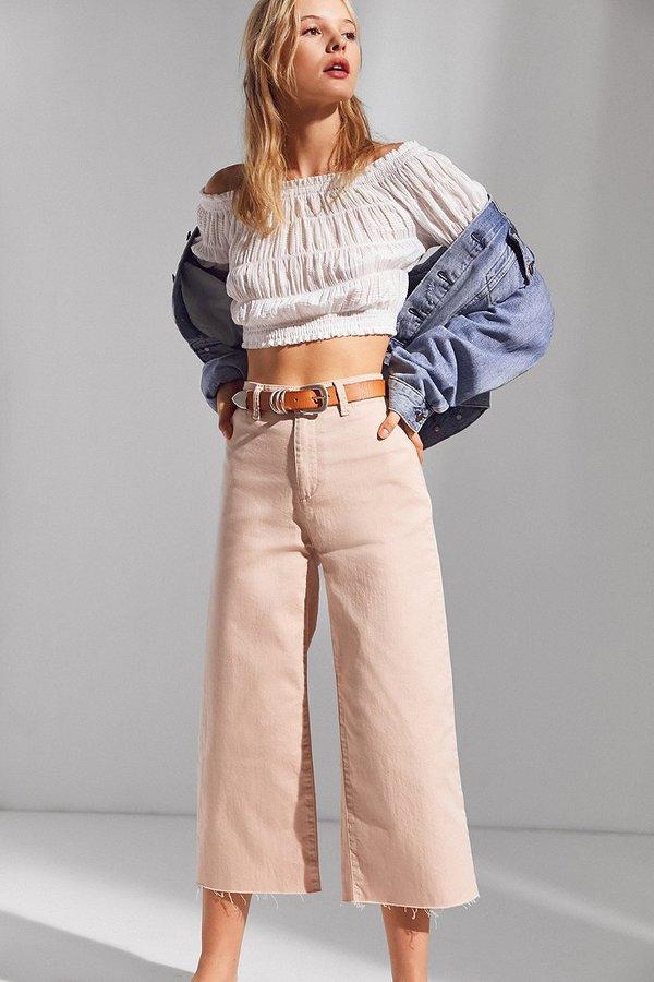 BDG Britt Cropped Culotte Pant