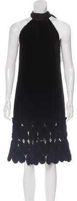 Jean Paul Gaultier Femme Velvet Dress w/ Tags