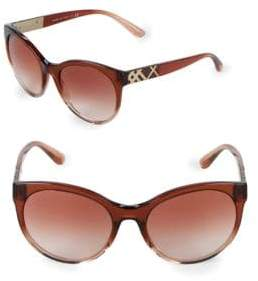 Burberry 56MM Butterfly Sunglasses