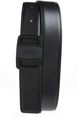 Salvatore Ferragamo Vara Buckle Leather Belt