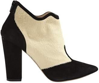 Nicholas Kirkwood Beige Pony-style calfskin Boots