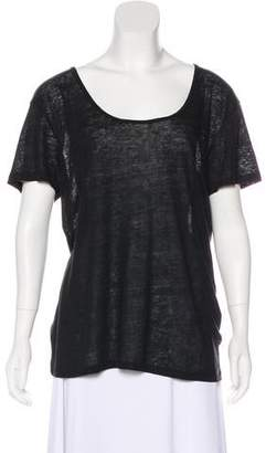 Rag & Bone Sheer Short Sleeve Top