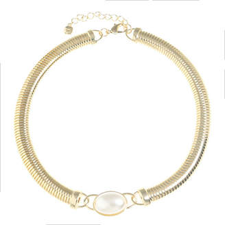 MONET JEWELRY Monet Jewelry Womens White Simulated Pearl Collar Necklace