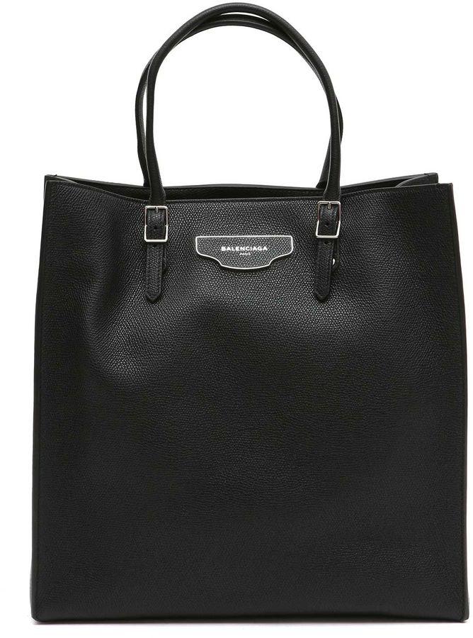 Balenciaga Balenciaga 'paper Plate' A5 Handbag