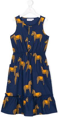 Mini Rodini horse print dress