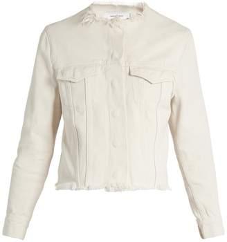 Marques Almeida MARQUES'ALMEIDA Frayed-edge denim jacket