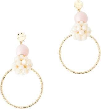 Lilly Pulitzer R) Caliente Statement Hoop Earrings