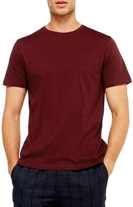 Topman Burgundy Classic T-Shirt