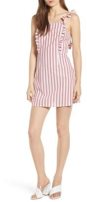 The Fifth Label Acacia Stripe Ruffle Dress