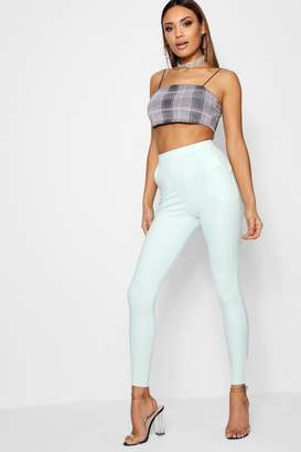 boohoo Carmilla Scuba Stretch Skinny Trousers
