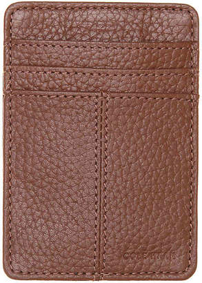 Cole Haan Front Pocket Leather Clip Wallet - Men's