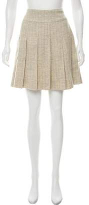 Marc by Marc Jacobs Wool Pleated Skirt