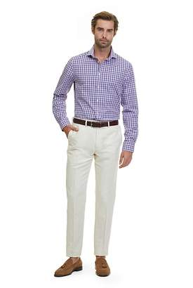 Country Road Slim Gingham Stretch Shirt