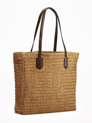 Straw Tote for Women $29.94 thestylecure.com
