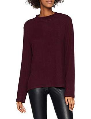 Pieces Women's Pcamia Blouse Noos Jumper, Red Winetasting, 8 (Manufacturer Size: X-Small)