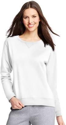 Hanes ComfortSoft EcoSmart Women's Crewneck Sweatshirt__L
