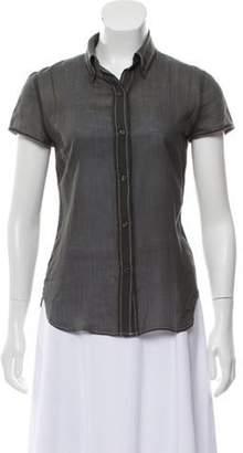 Joseph Short Sleeve Button-Up Top Short Sleeve Button-Up Top