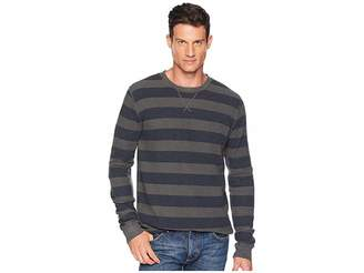 Lucky Brand Thermal Stripe Overdye Tee