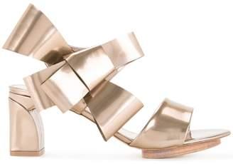 DELPOZO bow detail sandals