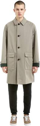 Burberry Runway Cotton Gabardine Trench Coat