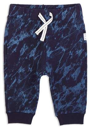 Miles Baby Boys' Marbled Jogger Pants - Baby