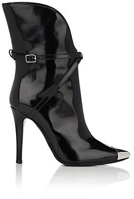 Philosophy di Lorenzo Serafini Women's Metal-Toe Leather Ankle Boots - Black