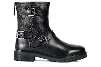 new styles ab3cb 07821 Black Biker Boots - ShopStyle UK