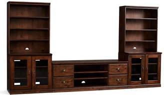 Pottery Barn Large TV Stand Suite with Towers & Bridge