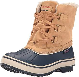 Skechers Women's Highlanders-Waterproof Winter Boot