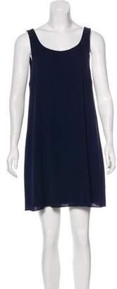 Alice + Olivia Cutout Silk Dress